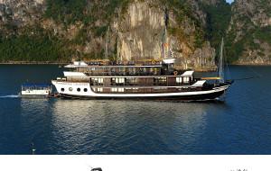 【下龙湾图片】【北越颓废之旅】下龙湾三天三夜的奢侈时光(一):下龙湾上的豪华游船