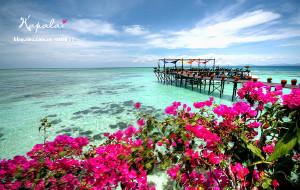【卡帕莱岛图片】漂浮在海上的绝美天堂-Kapalai