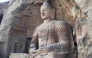 云冈石窟图片