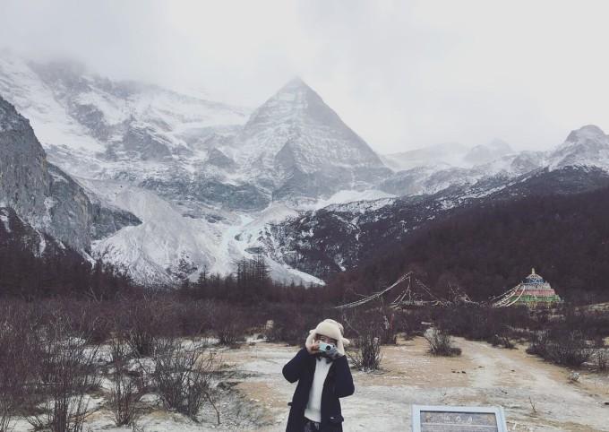 ps冬天风景背景素材