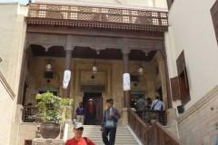 埃及土耳其十八天探险之旅...参观开罗悬空寺记