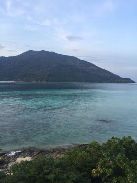 马来兰卡威到泰国丽贝岛