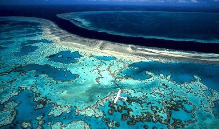 水上飞机心形大堡礁