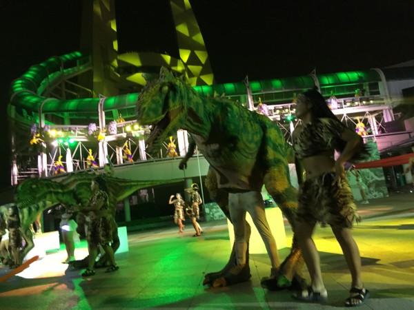 神的游 常州恐龙园