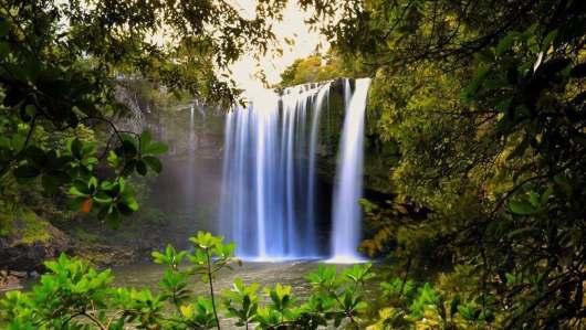 壁纸 风景 旅游 瀑布 山水 桌面 530_299