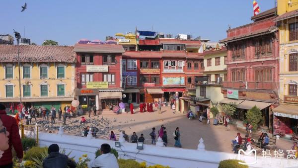尼泊尔 游记   博达哈大佛塔位于加德满都东面大约6