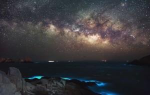 【渔山岛图片】遇见渔山岛(流星,银河,蓝眼泪)