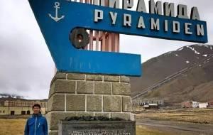 【斯瓦尔巴群岛图片】[校长Harry] 北极圈之北-北纬79°鬼城Pyramiden (挪威)