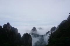 云海与月光下的爱恋——夜游黄山