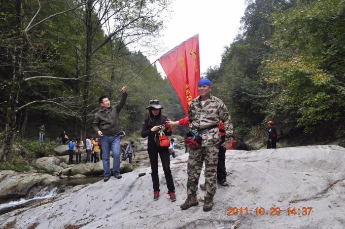 天堂寨风景区位于湖北省罗田县东北,大别山主峰南麓的天堂山.