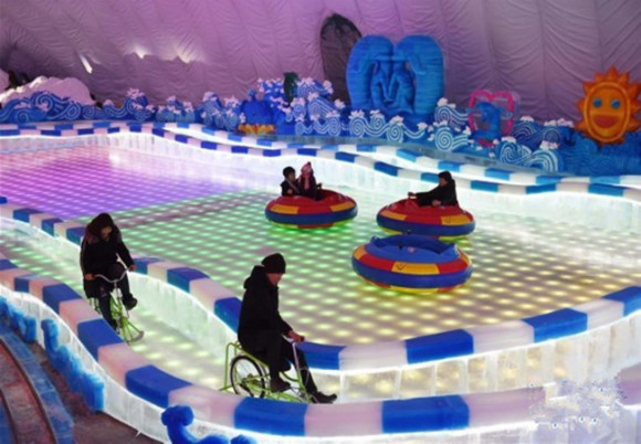 哈尔滨冰雪大世界室内冰雪主题乐成人票(美轮美奂)图片