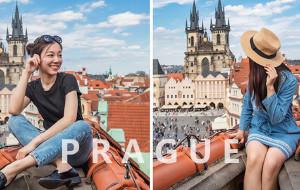 【布拉格图片】# 布拉格 # Nonstop闪游趴趴走!附超赞拍照取景位和美食揭秘~