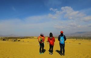 【怀来图片】蓝天白云遍地黄沙—天漠