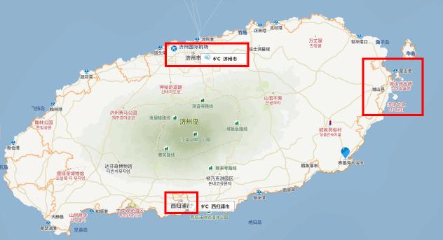 济州岛住宿住在城山附近好吗