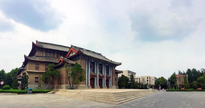 大学明伦校区图片