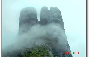 【永州图片】风雨雾中行九疑