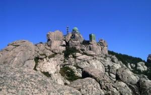 【崂山图片】崂顶餐紫霞,平步登云台