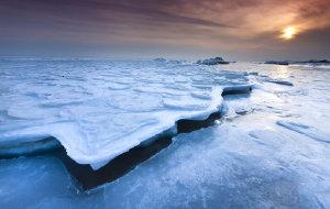 【秦皇岛图片】冰封渤海,极地景观-自驾JIMNY拍摄北戴河冰海