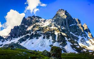 【格鲁吉亚图片】【格俄边境】徒步外高加索雪山最美的地方