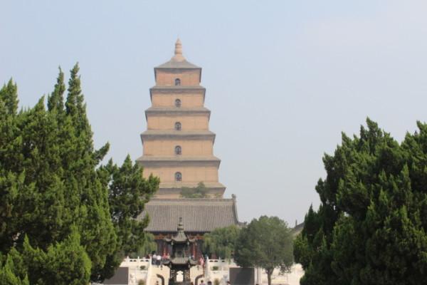大雁塔建于永徽三年(652年)