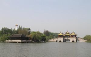 【扬州图片】国画长卷瘦西湖