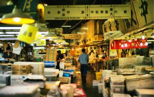 日本美食-筑地市场