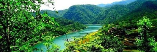 漳河风景区 漳河风景名胜区 于湖北省中部,地处荆门,宜昌,襄樊三市