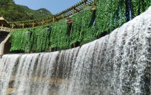 【郧西图片】中国小九寨——郧西五龙河