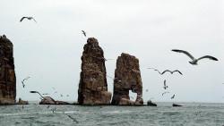 长岛景点-姊妹礁