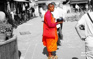 """【尼泊尔图片】【尼泊尔】擦肩微笑""""""""却从未停止心跳"""