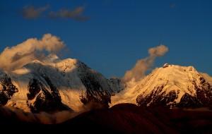 【贡嘎图片】贡嘎雪山——美丽的让空气都凝固了