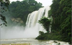 【黄果树瀑布图片】[实拍] 丰水期的黄果树瀑布(多图)