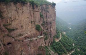 【郭亮图片】郭亮绝壁长廊:大自然的壮美与人类愚公精神的完美结合!