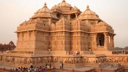 新德里景点-阿克萨达姆印度教神庙(Akshardham Temple)