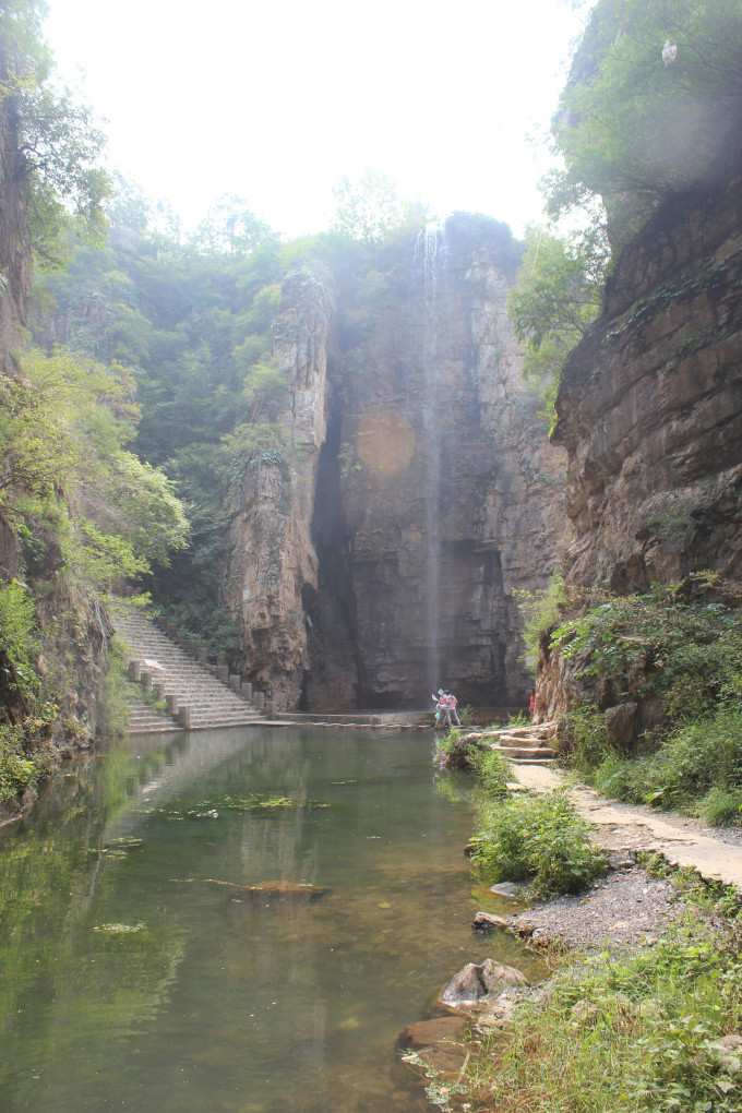 全胜峡——不一样的自然人文风景,保定旅游攻略 - 马