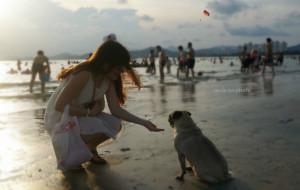 【惠东图片】妹纸在惠东,寻找双月湾