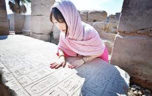 【开罗图片】恍如古埃及女子.穿梭这冰与火交融的千年国度.