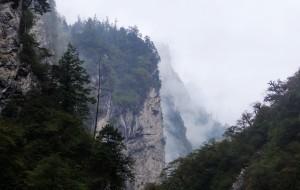 【平武图片】虎牙大峡谷 冬季冰瀑跟夏季的瀑布!