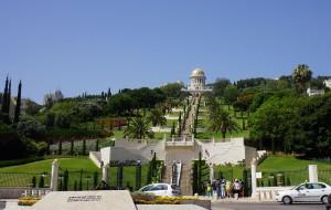 【海法图片】朝圣以色列——海法(世界文化遗产 2008年)·巴哈伊空中花园