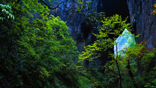 【恩施必玩】当地参团 恩施坪坝营 清江风景区 大峡谷