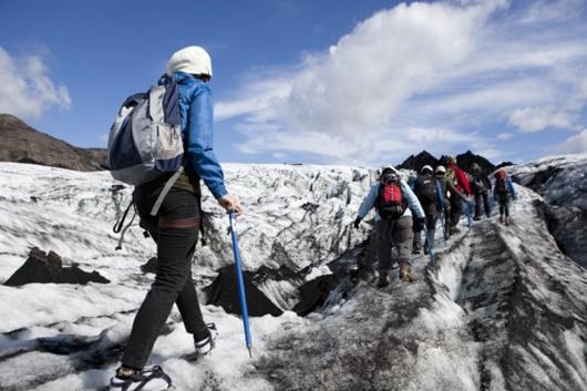 【来一场冰川穿越】冰岛索尔黑马冰川+攀冰徒步1日游