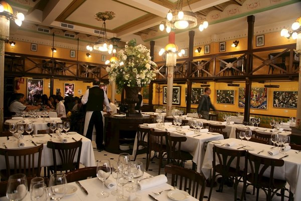 毕加索喜爱的咖啡馆 西班牙巴塞罗那四只猫餐厅