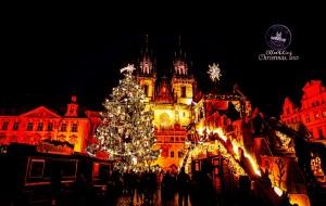 【克鲁姆洛夫图片】「当圣诞降临童话奇境」深冬漫游捷克布拉格+克鲁姆洛夫小镇