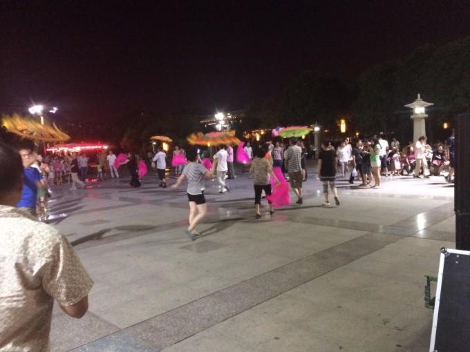 西安大雁塔广场舞