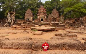 【暹粒图片】高棉艺术的开端——罗洛士遗址群