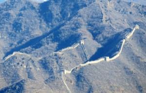 """【密云图片】走长城系列之二-----密云墙子路""""V""""字长城"""