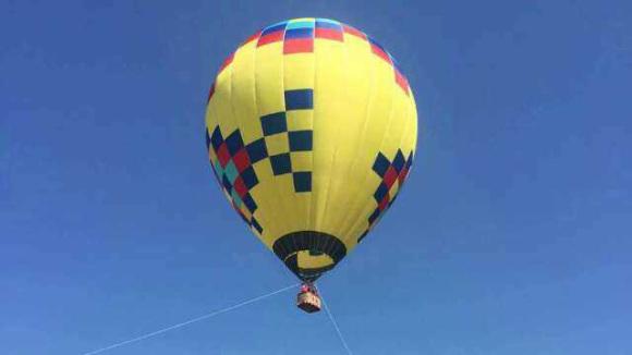 千岛湖天际热气球 空中360度俯瞰千岛湖风景
