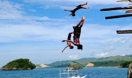 长滩岛 跳岛浮潜 魔幻岛刺激跳崖 半日游/ 赠岛主卡(含午餐饮料)
