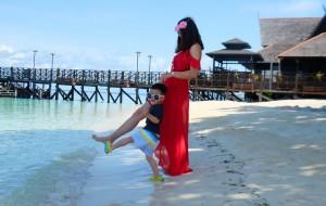 【马达京岛图片】带上小点去海岛亲子游之二—马六甲、仙本那(马布岛MWB、马达京)、吉隆坡十天(附度假村选岛攻略)
