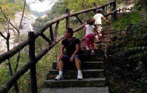 【黄陂图片】大手牵小手——带着小妞游家乡——武汉后花园天然氧吧,木兰山,古门石山